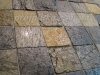 заполнение швов неровного, шероховатого камня  эпоксидным составом