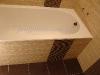 стык плитки с ванной
